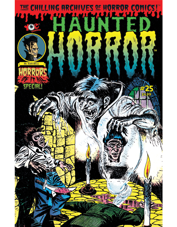 Cover of HAUNTED HORROR #25 comic book