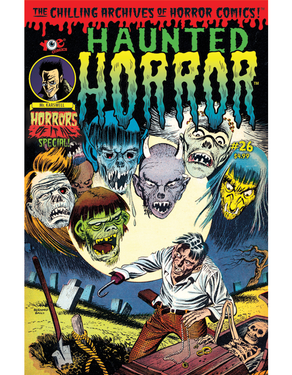 Cover of HAUNTED HORROR #26 comic book