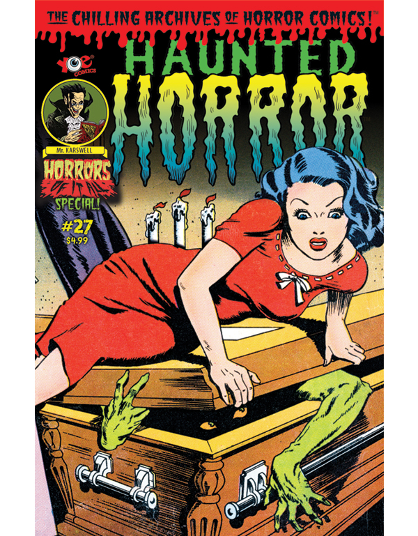 Cover of HAUNTED HORROR #27 comic book