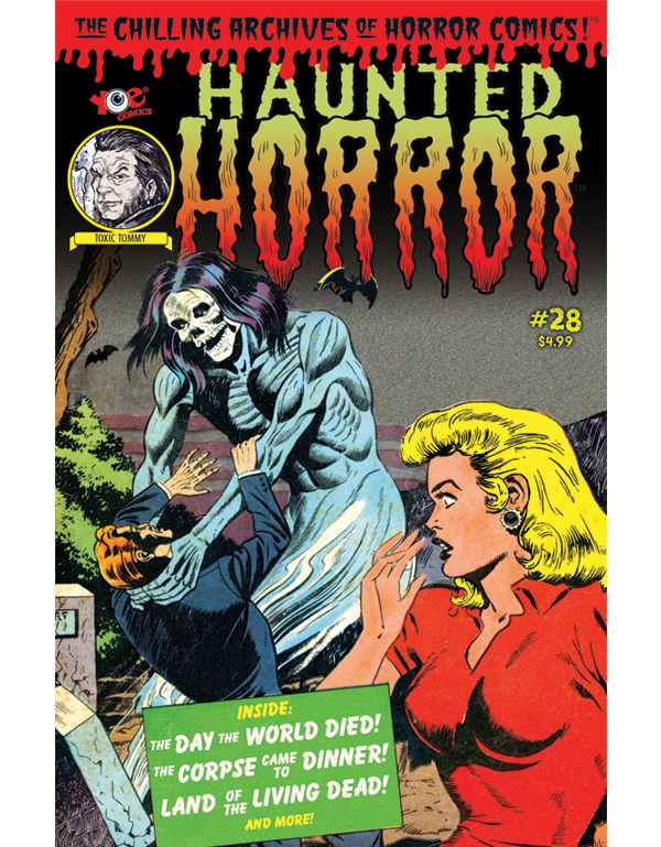 Cover of HAUNTED HORROR #28 comic book