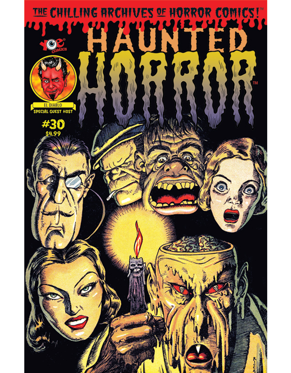 Cover of HAUNTED HORROR #30 comic book