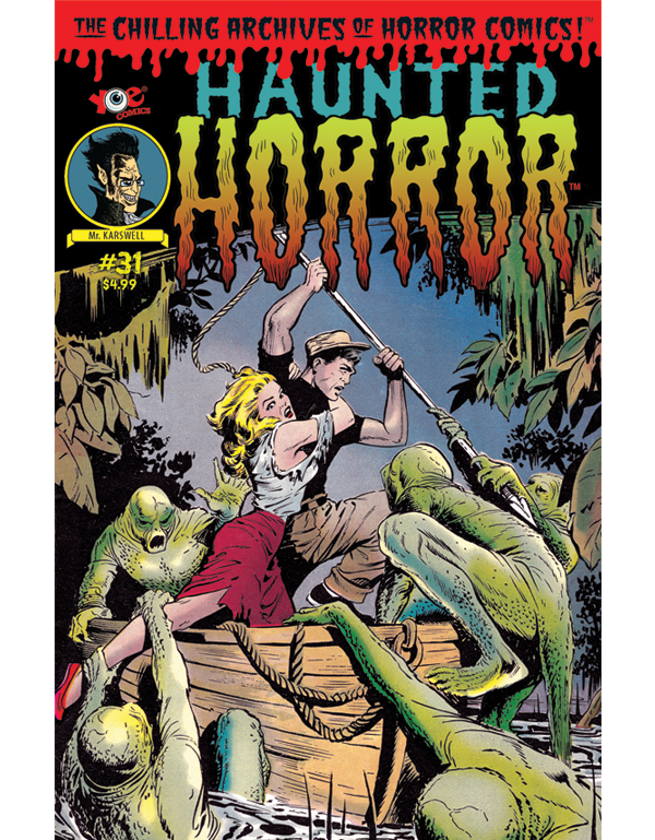 Cover of HAUNTED HORROR #31 comic book