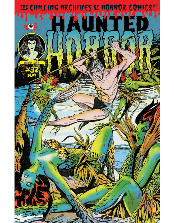 Cover of HAUNTED HORROR #32 comic book