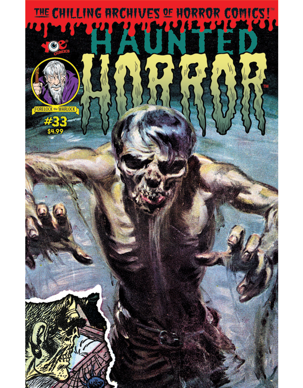 Cover of HAUNTED HORROR #33 comic book