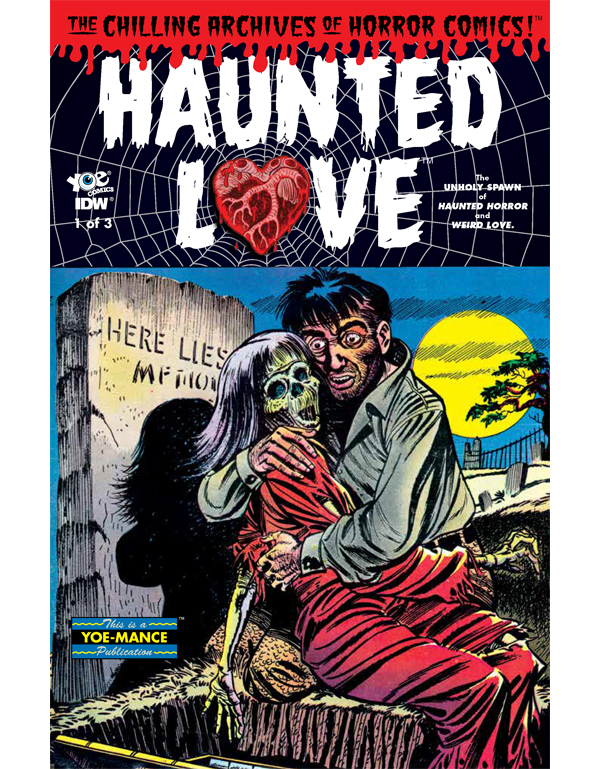 Cover of HAUNTED LOVE #1