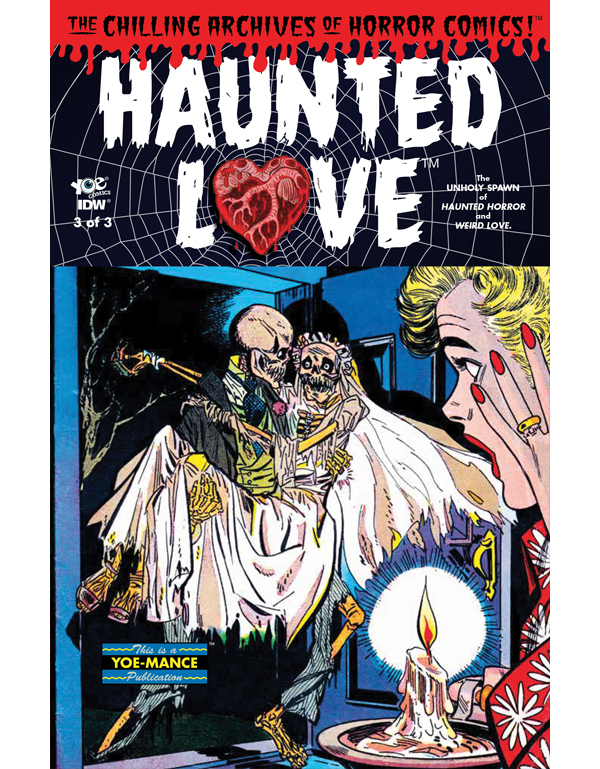 Cover of HAUNTED LOVE #3