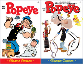 Cover of Popeye Classic #28