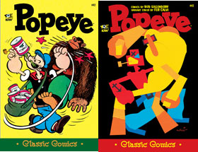 Cover of Popeye Classic #42
