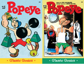 Cover of Popeye Classic #43