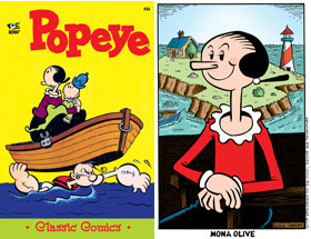 Cover of Popeye Classic #46