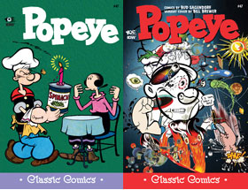 Cover of Popeye Classic #47