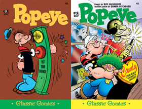 Cover of Popeye Classic #52