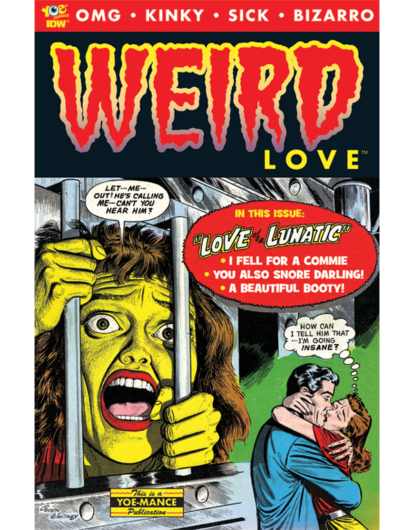 Cover of WEIRD LOVE #01 comic book