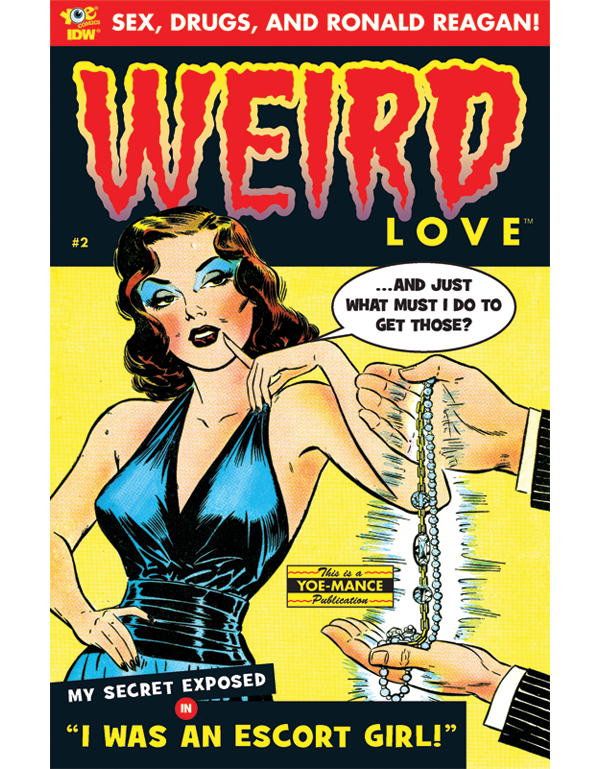 Cover of WEIRD LOVE #02 comic book