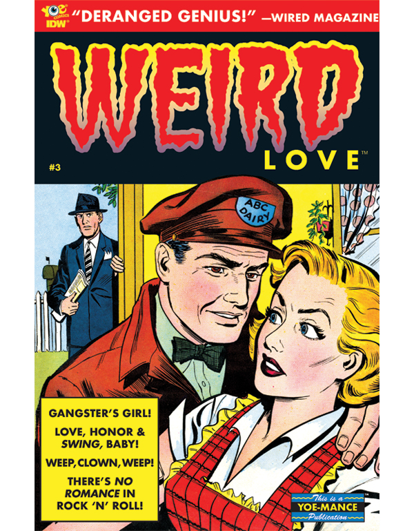 Cover of WEIRD LOVE #03 comic book