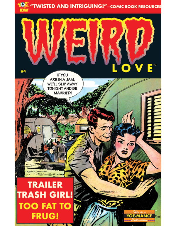 Cover of WEIRD LOVE #04 comic book