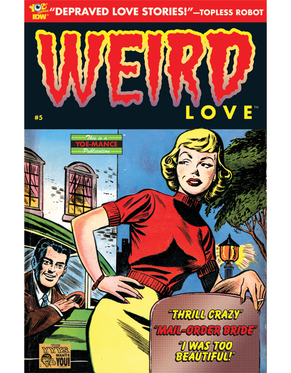 Cover of WEIRD LOVE #05 comic book