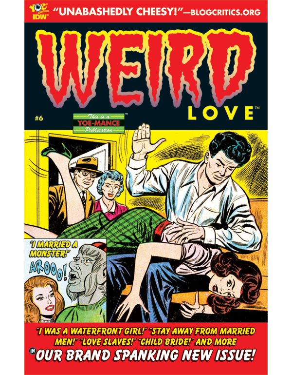 Cover of WEIRD LOVE #06 comic book
