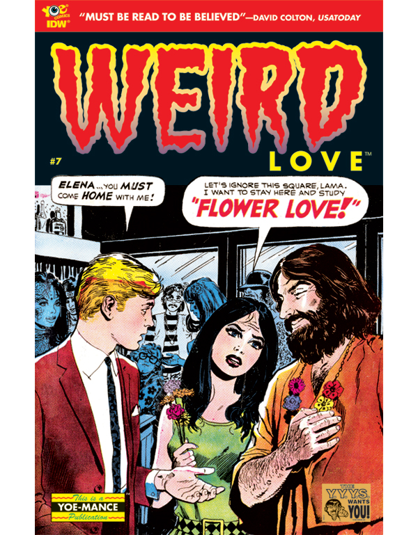 Cover of WEIRD LOVE #07 comic book