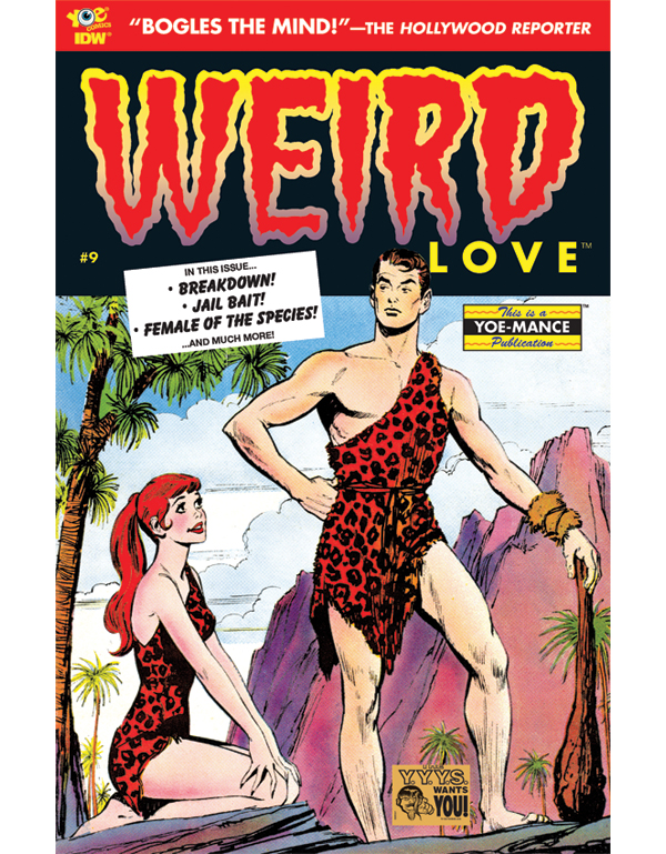 Cover of WEIRD LOVE #09 comic book