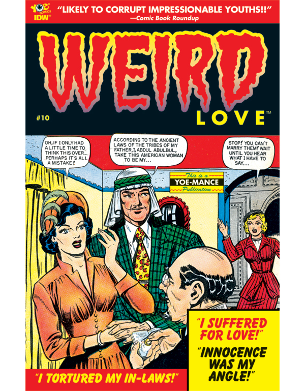 Cover of WEIRD LOVE #10 comic book