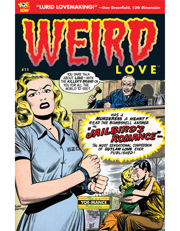 Cover of WEIRD LOVE #11 comic book