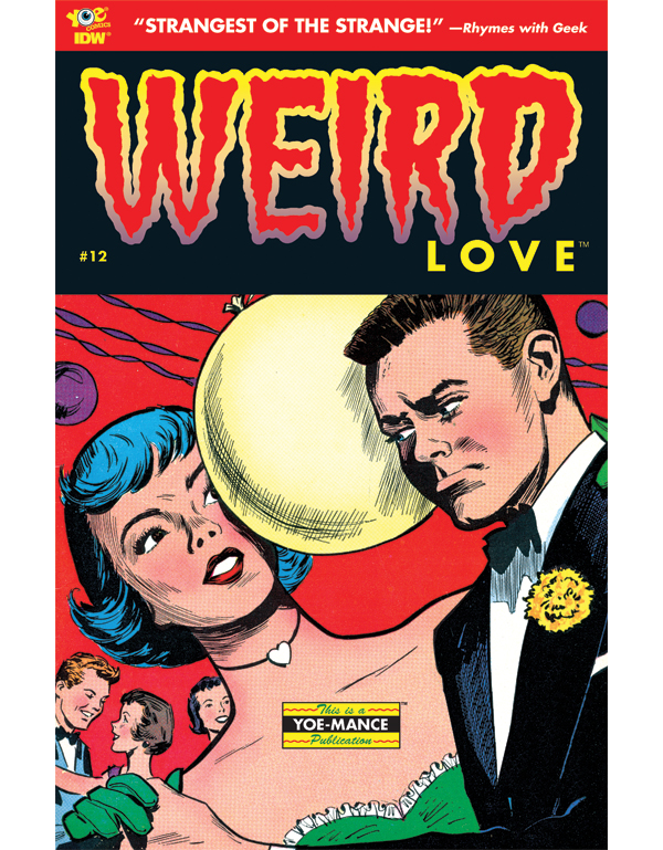 Cover of WEIRD LOVE #12 comic book