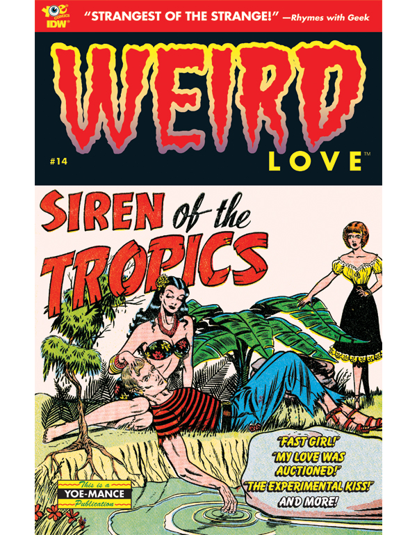 Cover of WEIRD LOVE #14 comic book