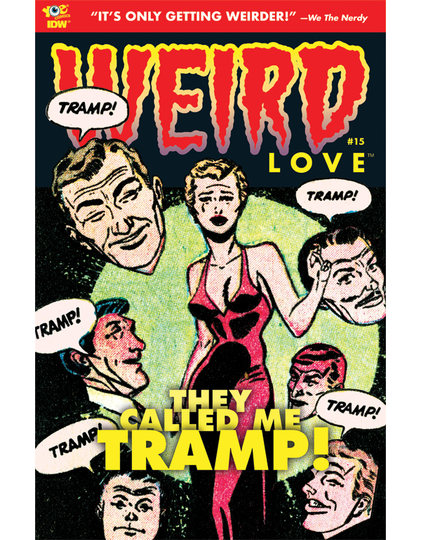 Cover of WEIRD LOVE #15 comic book