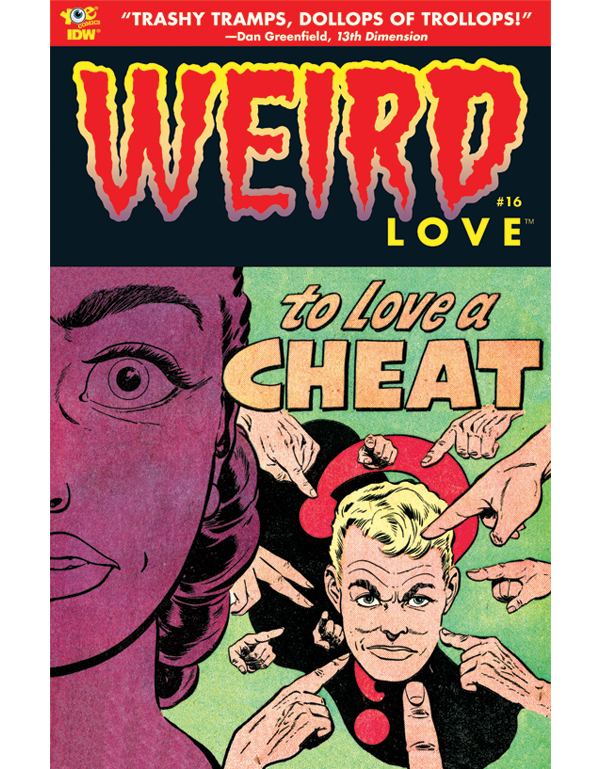 Cover of WEIRD LOVE #16 comic book