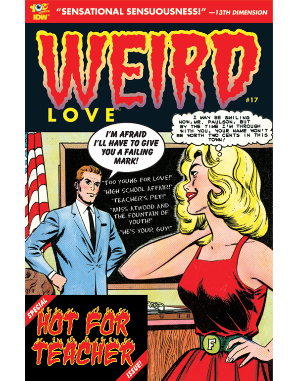 Cover of WEIRD LOVE #17 comic book