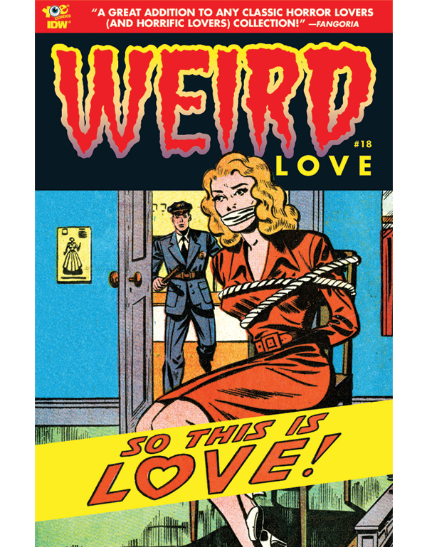 Cover of WEIRD LOVE #18 comic book
