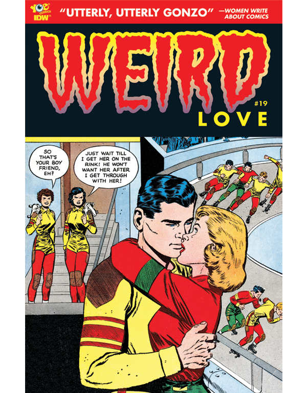 Cover of WEIRD LOVE #19 comic book