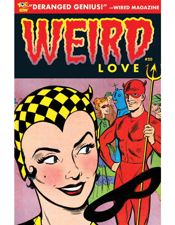 Cover of WEIRD LOVE #20 comic book