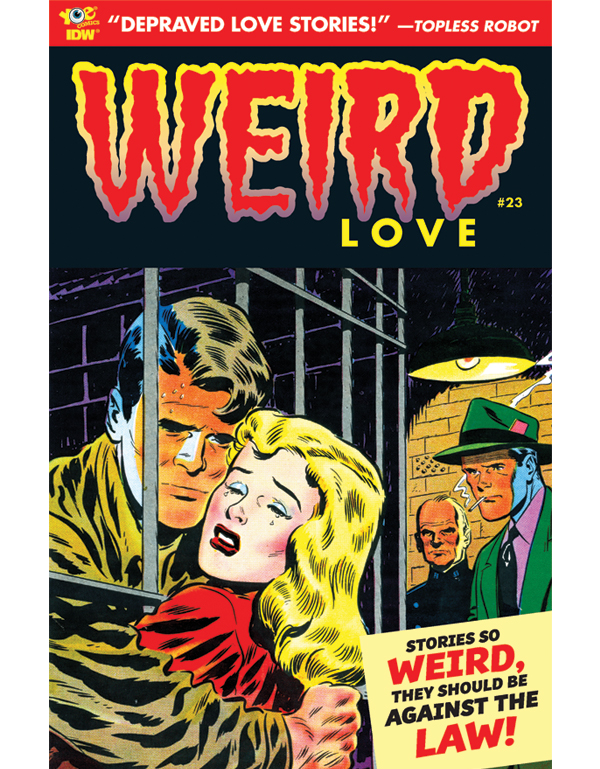 Cover of WEIRD LOVE #23 comic book
