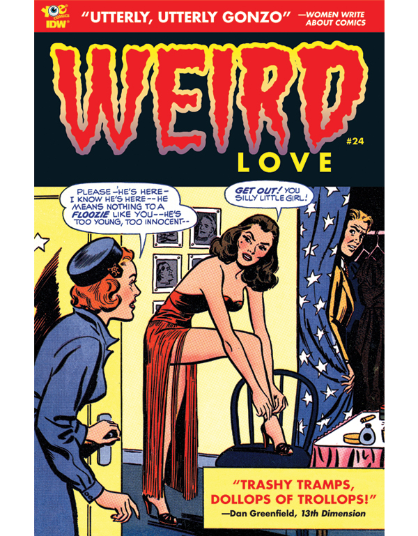 Cover of WEIRD LOVE #24 comic book